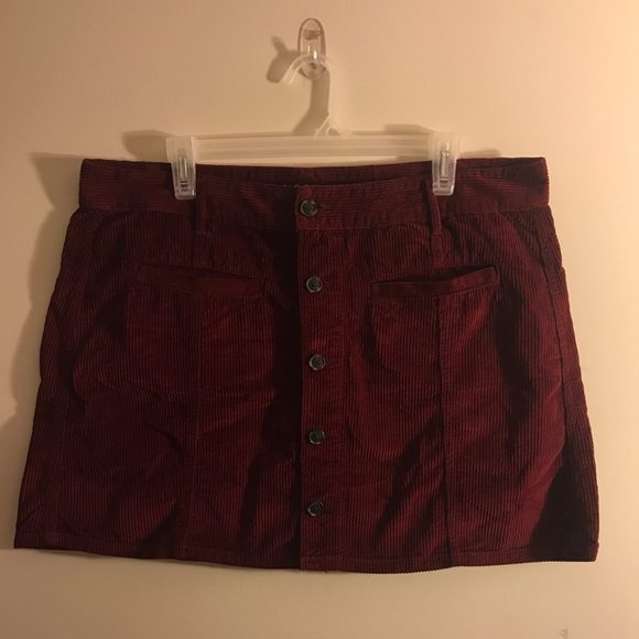 d9fa865ff9 American Eagle Outfitters Dresses & Skirts - High-Waisted Festival Corduroy  Skirt